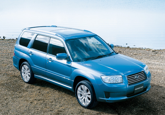 Subaru Forester Cross Sports Sg 2005 Photos