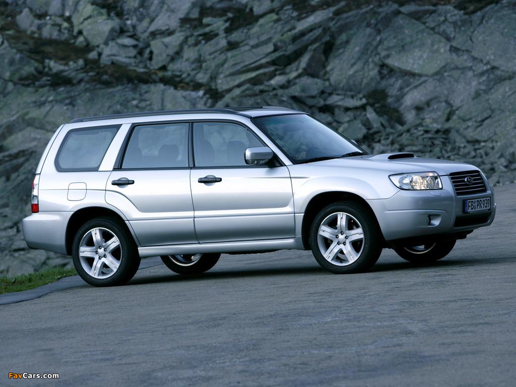 Forester 2.5 Xt >> Subaru Forester 2.5XT (SG) 2005–08 photos (1024x768)