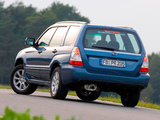 Subaru Forester 2.0X 2005–08 pictures