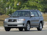 Subaru Forester Sports US-spec (SG) 2005–08 pictures