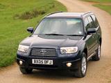 Subaru Forester 2.0X UK-spec (SG) 2005–08 pictures
