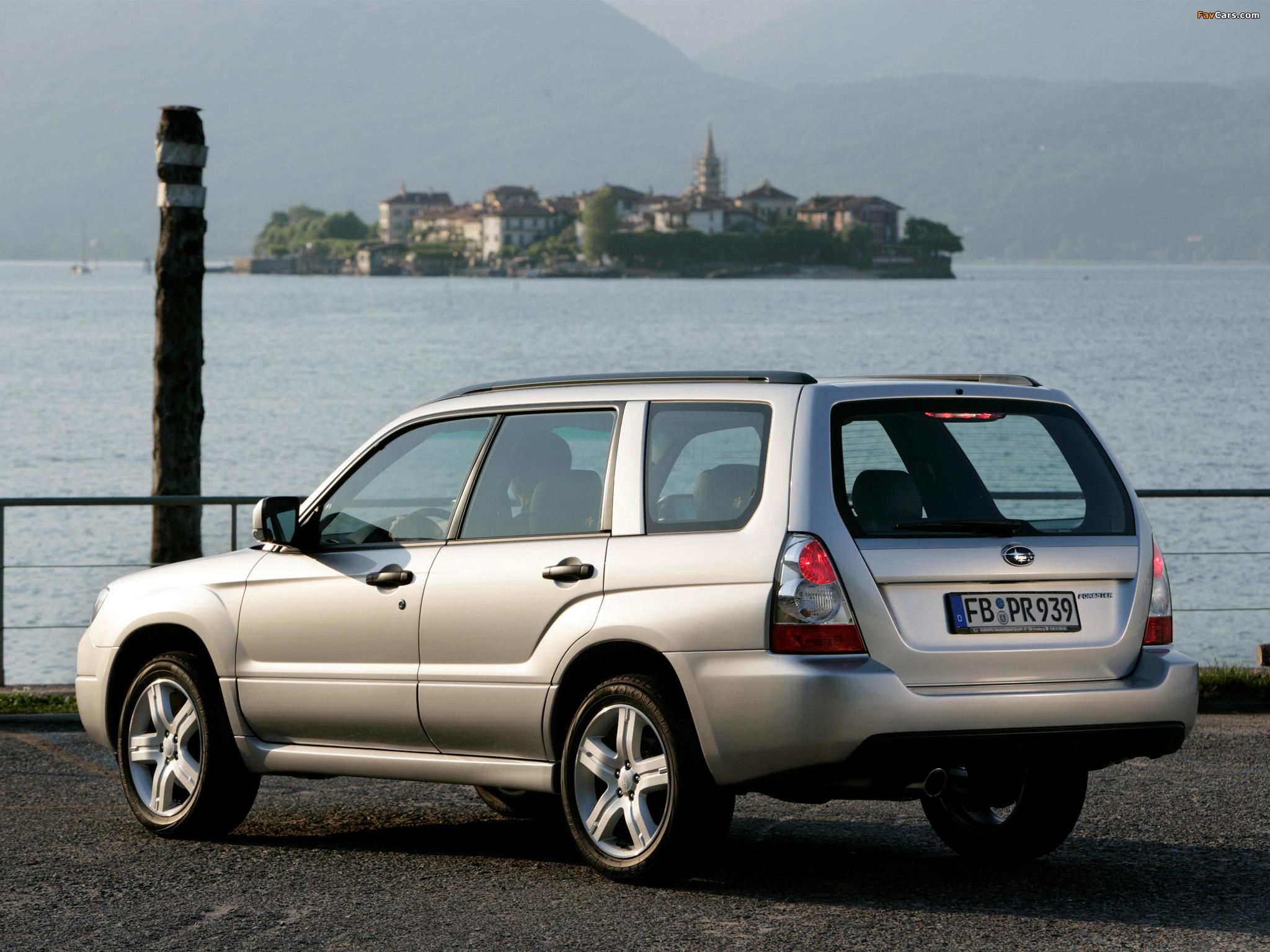 Subaru Forester 2 5XT SG 2005–08 wallpapers