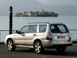 Subaru Forester 2.5XT (SG) 2005–08 wallpapers