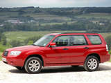 Subaru Forester 2.0X UK-spec (SG) 2005–08 wallpapers