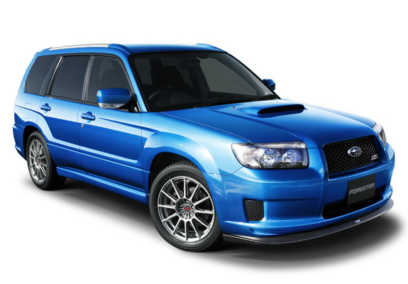 Subaru Forester Cross Sports S Edition Sg 2006 Wallpapers