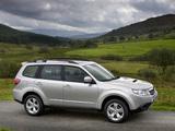 Subaru Forester 2.0D UK-spec (SH) 2008–11 photos
