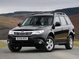 Subaru Forester UK-spec (SH) 2008–11 photos