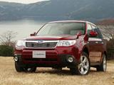 Subaru Forester JP-spec (SH) 2008–10 photos