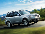 Subaru Forester US-spec (SH) 2010–12 images
