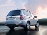 Subaru Forester US-spec (SH) 2010–12 pictures