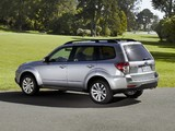 Subaru Forester US-spec (SH) 2010–12 pictures