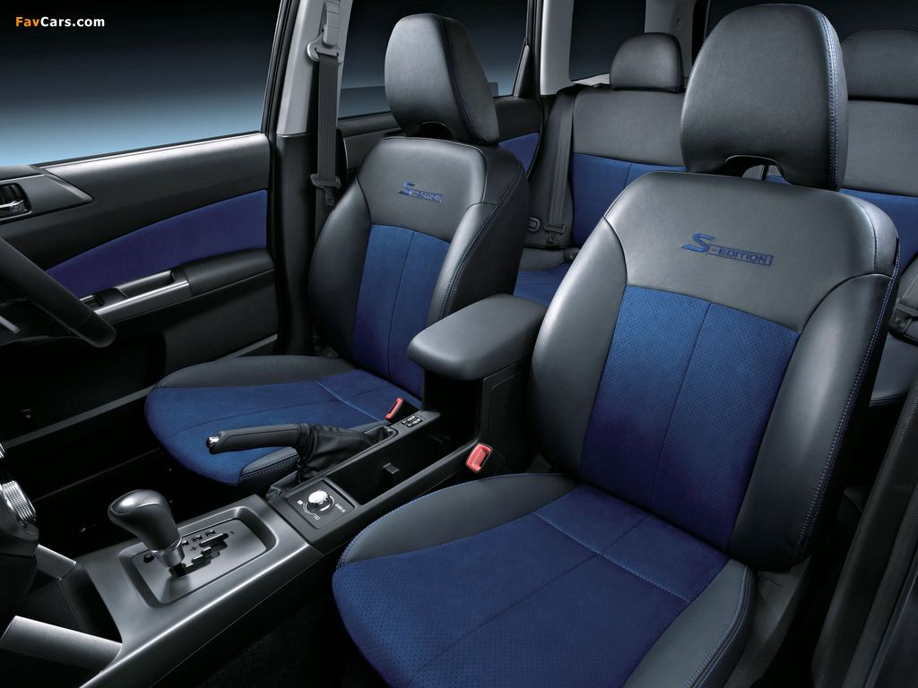 Subaru Forester S-Edition 2010 pictures (1024 x 768)