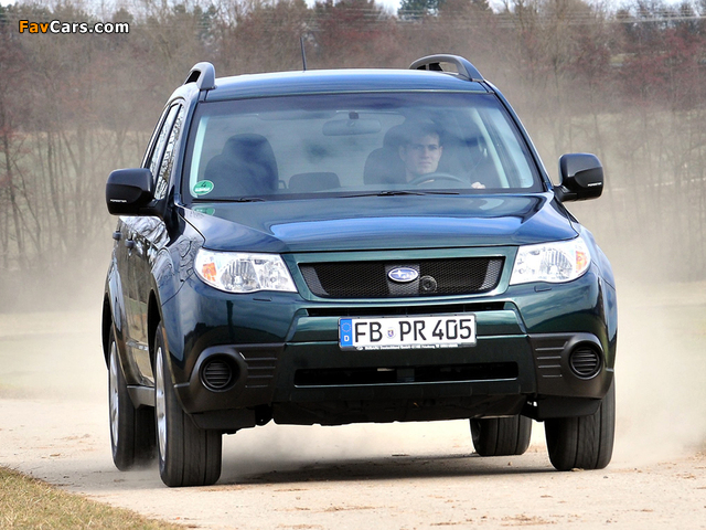Subaru Forester 30 Jahre (SH) 2010 wallpapers (640 x 480)