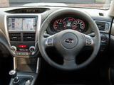 Subaru Forester 2.0D UK-spec (SH) 2011 photos