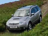Subaru Forester 2.0D UK-spec (SH) 2011 wallpapers