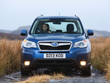Subaru Forester 2.0D XC UK-spec 2013 images