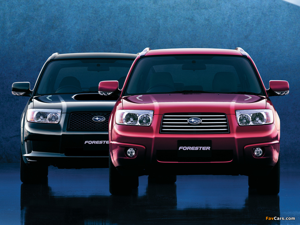 Subaru Forester wallpapers (1024 x 768)