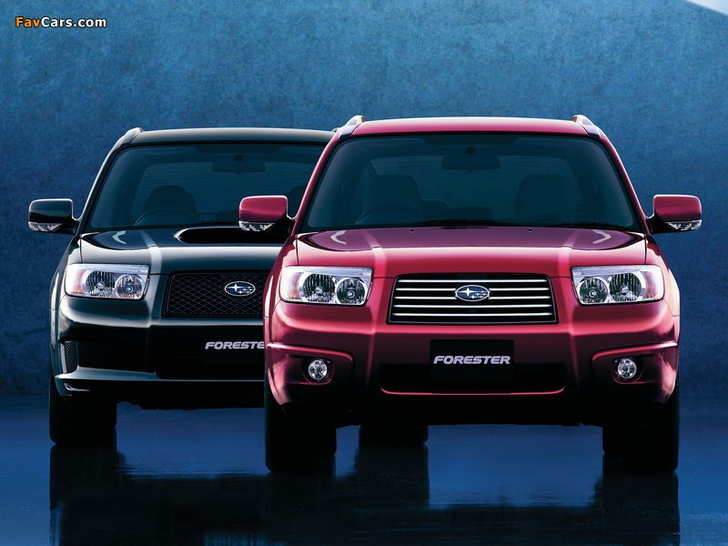 Subaru Forester wallpapers (800 x 600)