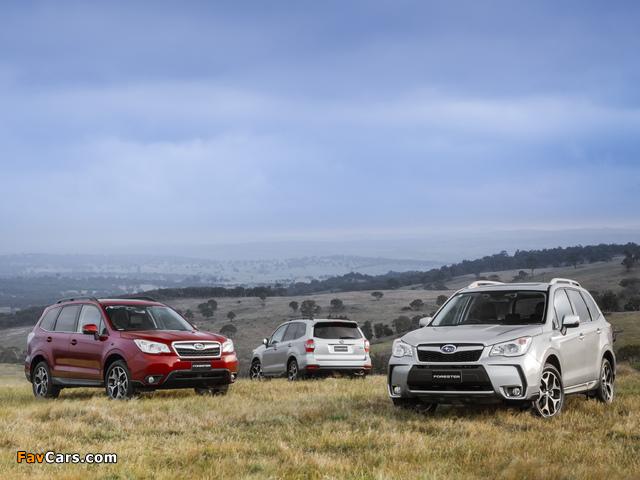 Subaru Forester photos (640 x 480)
