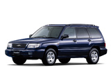 Subaru Forester JP-spec 1997–2000 wallpapers