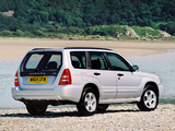 Subaru Forester XT UK-spec (SG) 2003–05 wallpapers