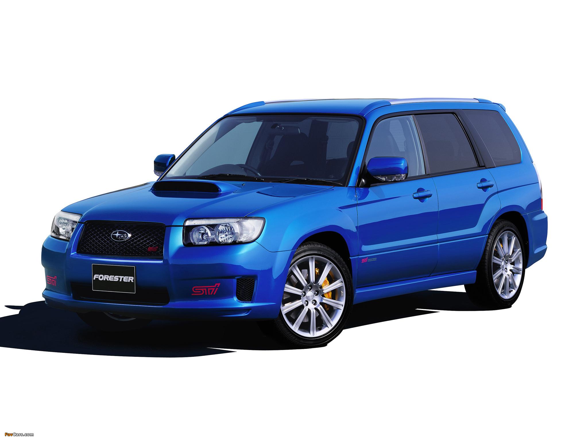 Subaru Forester Sti 2005 08 Wallpapers 2048x1536
