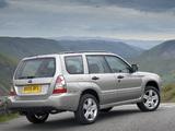 Subaru Forester 2.5XT UK-spec (SG) 2005–08 wallpapers