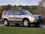 Subaru Forester 2.5XT US-spec (SG) 2005–08 wallpapers