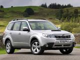 Subaru Forester 2.0D UK-spec (SH) 2008–11 wallpapers