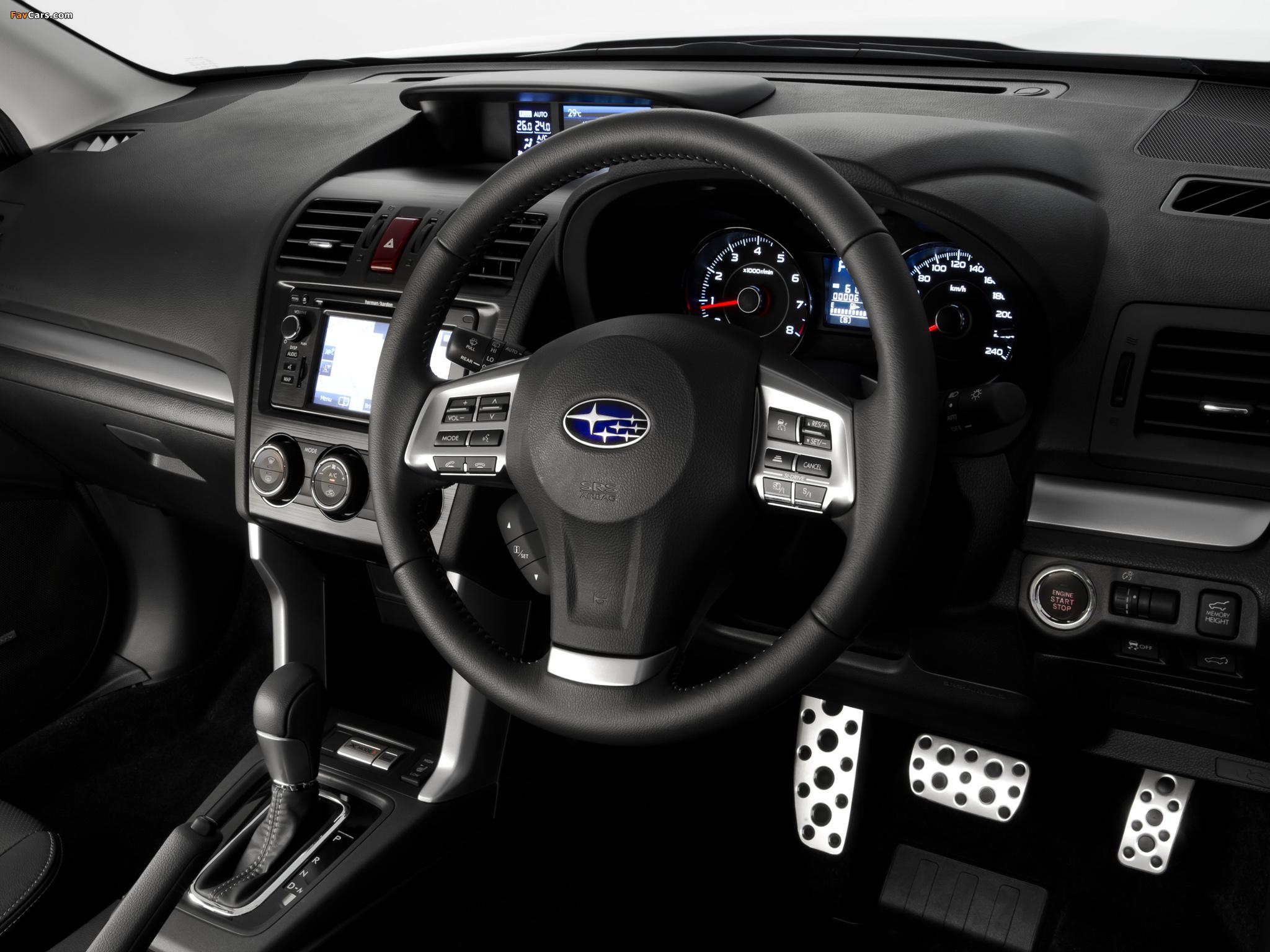Subaru Forester 2.0XT AU-spec 2012 wallpapers (2048 x 1536)