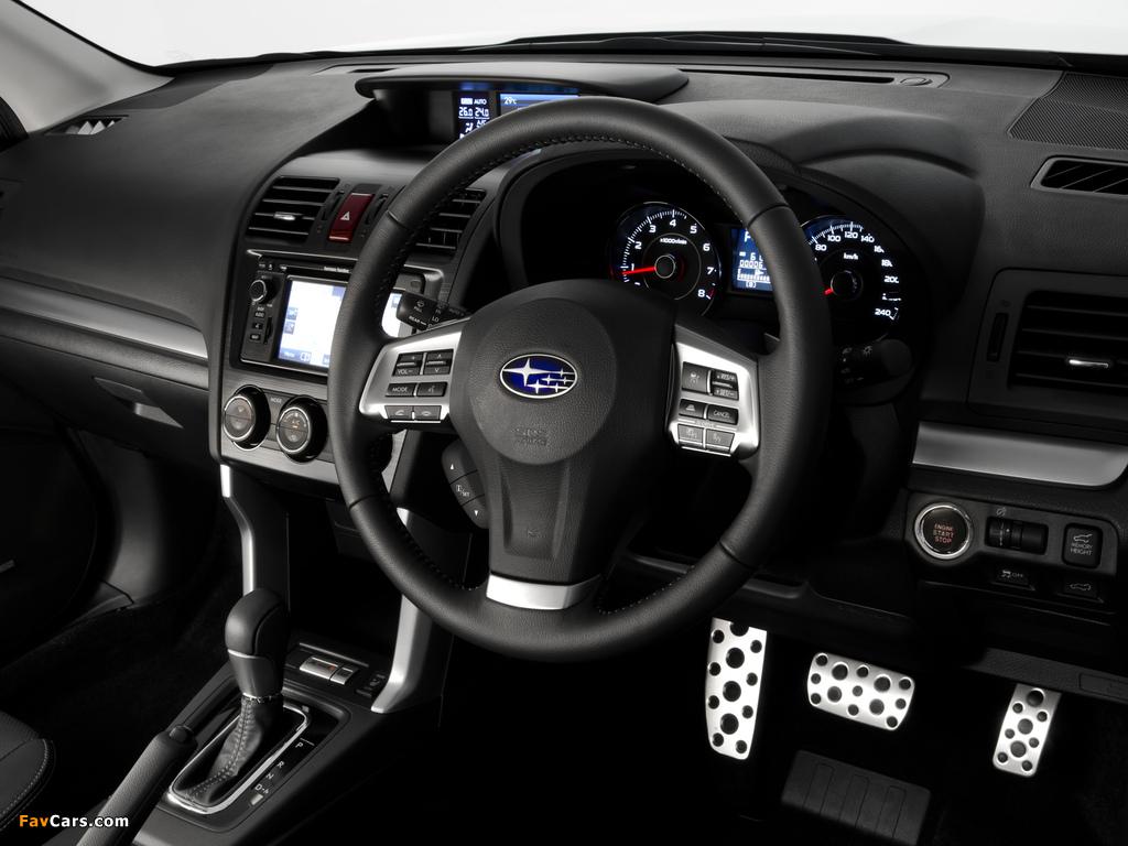 Subaru Forester 2.0XT AU-spec 2012 wallpapers (1024 x 768)