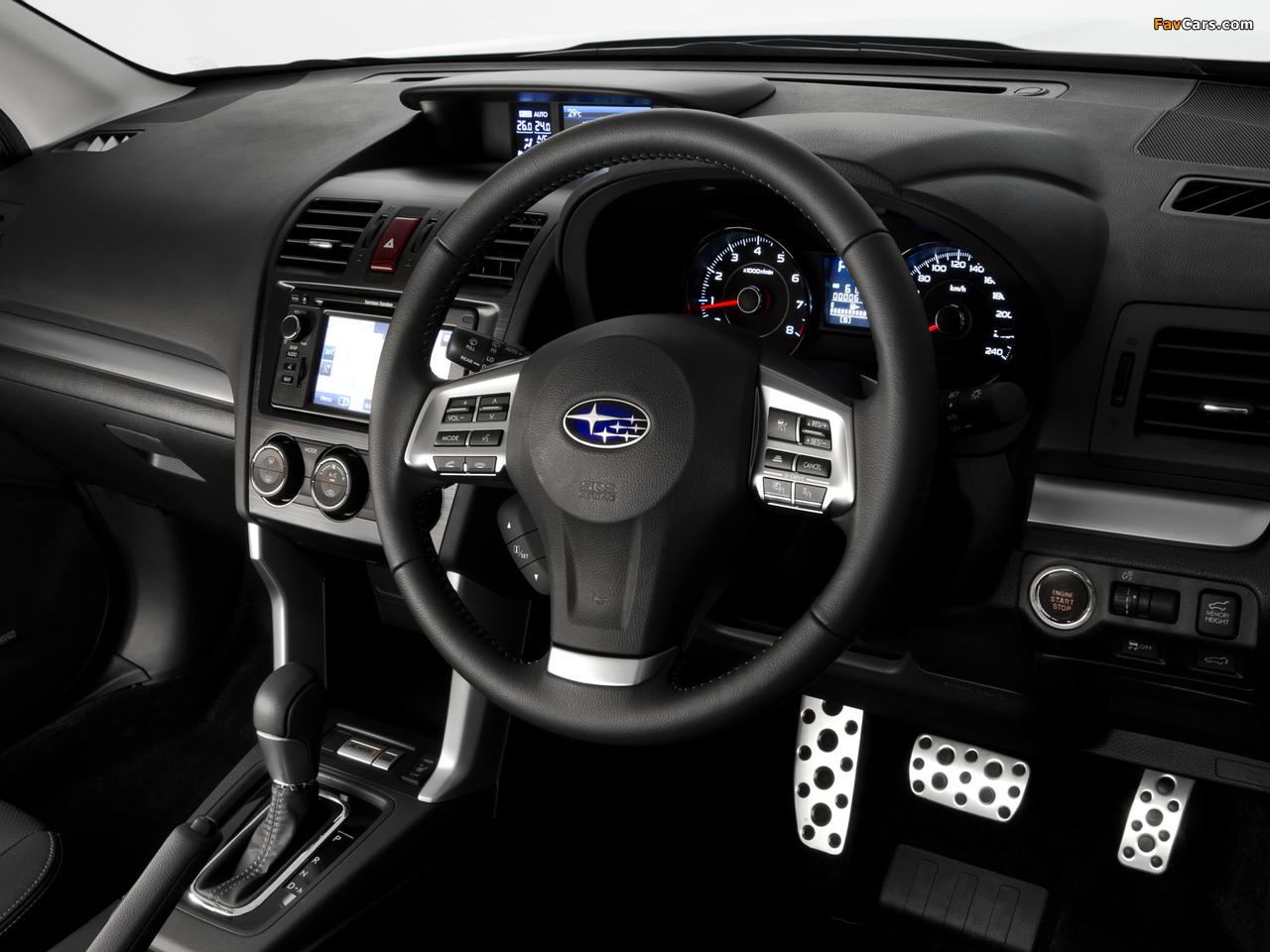 Subaru Forester 2.0XT AU-spec 2012 wallpapers (1280 x 960)