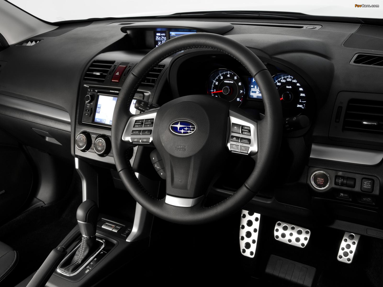 Subaru Forester 2.0XT AU-spec 2012 wallpapers (1600 x 1200)