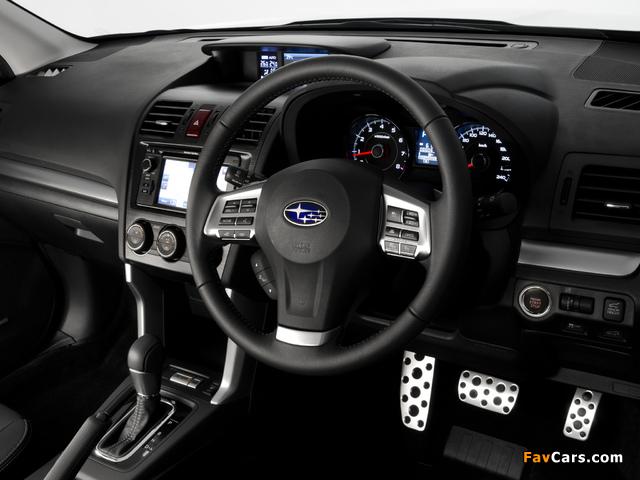 Subaru Forester 2.0XT AU-spec 2012 wallpapers (640 x 480)
