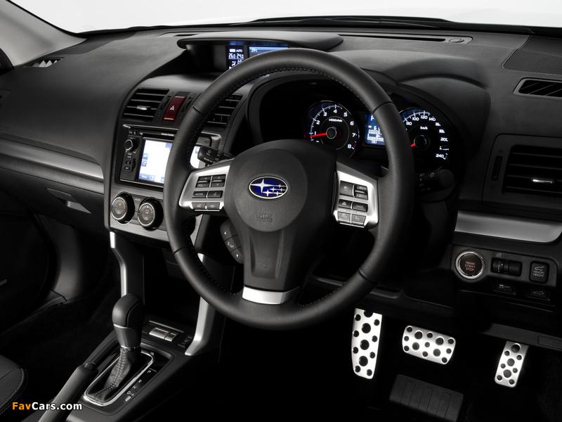 Subaru Forester 2.0XT AU-spec 2012 wallpapers (800 x 600)