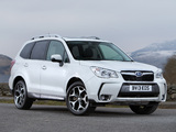 Subaru Forester 2.0XT UK-spec 2013 wallpapers
