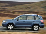 Subaru Forester 2.0D XC UK-spec 2013 wallpapers