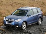 Subaru Forester 2.0D XC UK-spec 2013 wallpapers