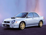 Images of Subaru Impreza WRX STi 2001–02