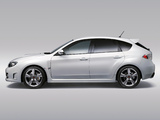 Images of Subaru Impreza WRX STi A-Line (GRF) 2009–10