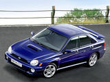 Photos of Subaru Impreza WRX UK-spec (GDB) 2000–02