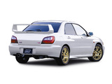 Photos of Subaru Impreza WRX STi Prodrive Style (GDB) 2001–02