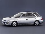 Pictures of Subaru Impreza WRX Wagon (GF8) 1992–96