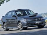 Pictures of Subaru Impreza WRX Sedan US-spec 2007–10