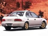Subaru Impreza WRX Type RA STi Ver.II (GC8) 1995–96 photos