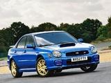 Subaru Impreza WRX STi 2001–02 pictures