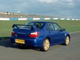 Subaru Impreza WRX UK300 (GDB) 2001 wallpapers