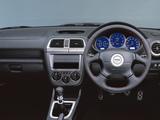 Subaru Impreza WRX STi Prodrive Style (GDB) 2001–02 wallpapers