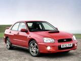 Subaru Impreza WRX UK-spec (GDB) 2003–05 images
