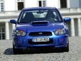 Subaru Impreza WRX STi 2003–05 photos